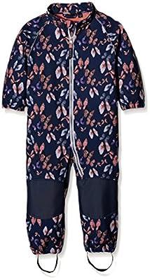 Name It Girl's Nitalfa M Softsh Suit Aop Bfly Fo 316 Snowsuit