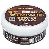 ニッペ VINTAGE WAX エボニーブラック 160g