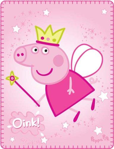 Characterworld Peppa Pig Princess Peppa Fleece Blanket At