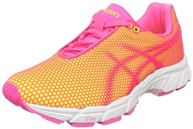 ASICS Women's Gel-Speed Star 5 Running Shoe,Lemon/Neon Pink/White,10.5 M US