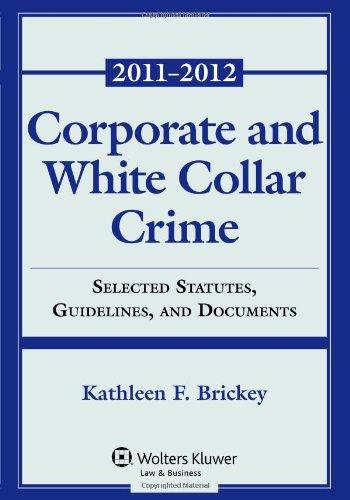 Corporate & White Collar Crime: Select Cases,...