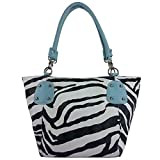 Fash Large Zebra Print Faux Leather Tote Handbag-women Hand Bag,casual Bag,girls College Bag,shopping Bag,gift for Her