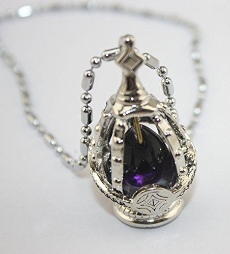Dancingstars Puella Magi Madoka Magia Soul Seed Gem Cosplay Necklace (Purple) (Soul Gem Purple compare prices)