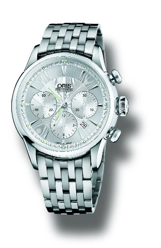 Oris Men's 676 7603 4051MB Artelier Chronograph Watch
