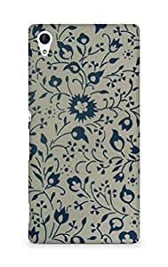 Amez designer printed 3d premium high quality back case cover for Sony Xperia Z4 (Vintag pattern 2)