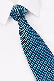 Savile Row Inspired Pure Silk Embroidered Mini Spotted Tie