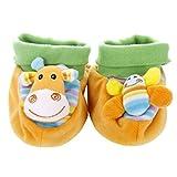 Happy cherry - Zapatos Zapatillas Calcetines Animales Infantiles para Beb�s reci�n nacidos Ni�os ni�as - Jirafa