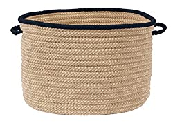 Colonial Mills Boat House Basket, 24 by 14-Inch, Navy