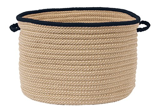 Colonial Mills Boat House Basket, 24 by 14-Inch, Navy - 1