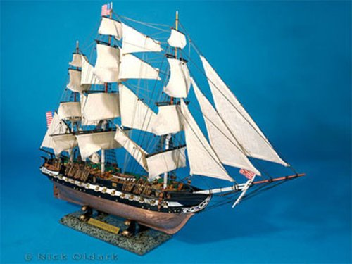USS Constitution 30'' Limited Edition Wood Model Tall Ship Fully Assembled Not a kit