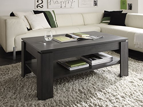 trendteam ct11269 couchtisch wohnzimmertisch tisch esche. Black Bedroom Furniture Sets. Home Design Ideas