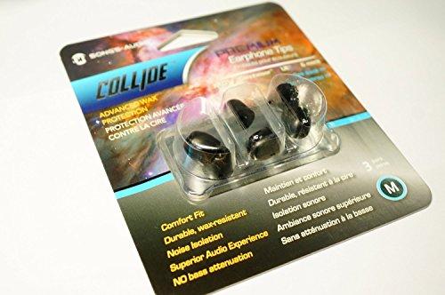 Song'S Audio Premium Comply Earphone Chip Black M Size (3 Pair)