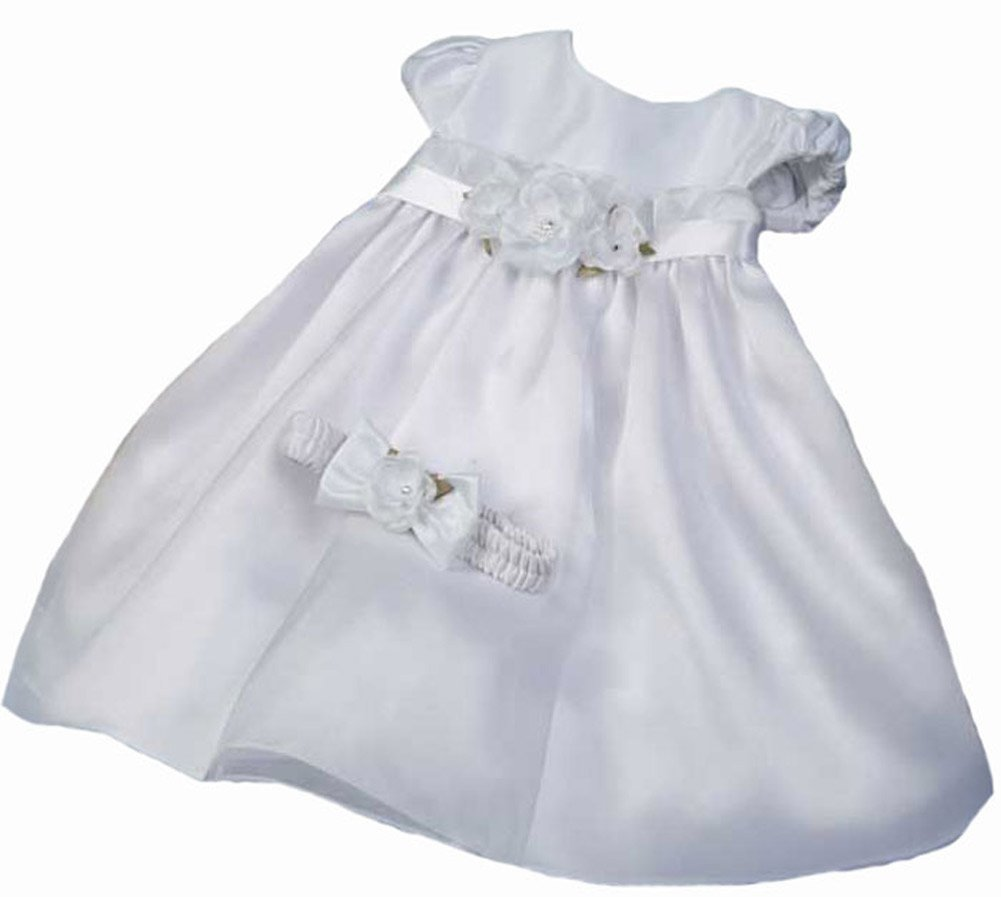 KID Collection Baby-Girls Angelic Flower Princess Dress with Headband