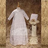 Baby Boys White Lace Bishop Baptism Outfit Gown 12M