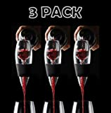 RED VINTURI WINE AERATOR - SET OF 3