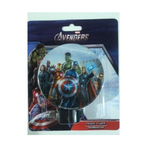 Avengers Night Light - Marvel - Entrance, Hallway, Bedroom & Kitchen