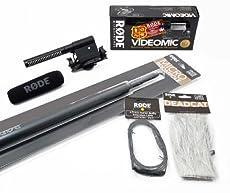 Rode Videomic Audio Essentials Kit (Richtmikrofon, Teleskop-Tonangel, Deadcat Windschutz, VC1 Verlängerungskabel) ab 1292,- Euro inkl. Versand