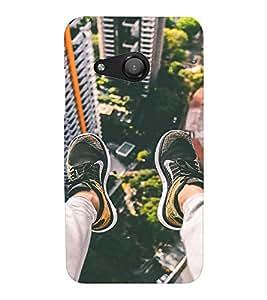 EPICCASE Run for life Mobile Back Case Cover For Microsoft Lumia 550 (Designer Case)