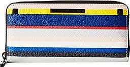 Rebecca Minkoff Women\'s Ava Zip Wallet Multi Checkbook Wallet
