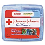 JOJ8274 - Johnson amp; Johnson Portable Travel First Aid Kit
