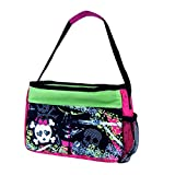 Cool Gear Bling Bag Insulated Lunch Bag With EVA Lining And Water Bottle Pocket (Black Skulls)