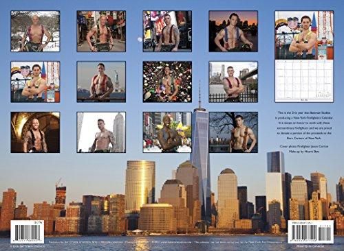 OFFICIAL Calendar 2016年 ニューヨーク市 消防士 カレンダー NYC New York Firefighters Calendar マッチョ  (並行輸入品) 平成28年 卓上 壁掛け 筋肉