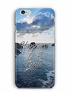 YuBingo Happiness is a Choice Designer Mobile Case Back Cover for Apple iPhone 6 Plus