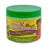 Sof N Free Gro Healthy Olive And Sunflower Oil Edge Tamer, 4 Ounce