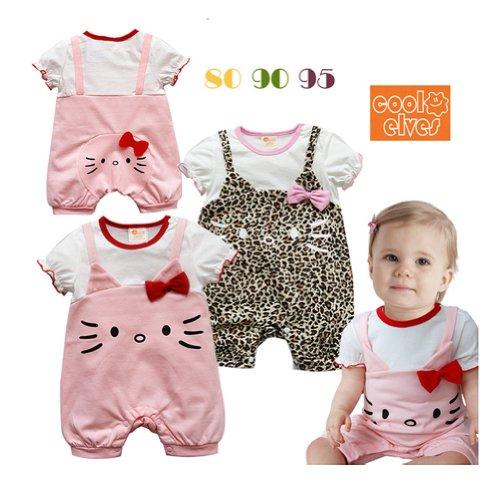 StylesILove-Hello-Kitty-Short-Sleeve-Baby-Girls-Romper