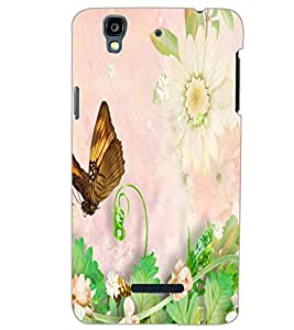 YU YUREKA PLUS BUTTERFLY Back Cover by PRINTSWAG