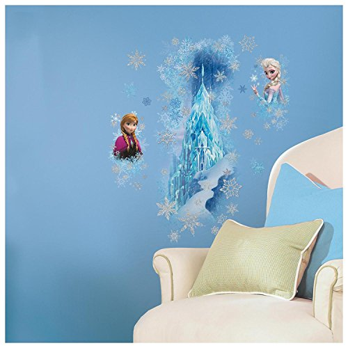 Roommates Rmk2739Gm Frozen Ice Palace With Else And Anna Peel And Stick Giant Wall Decals front-1049202