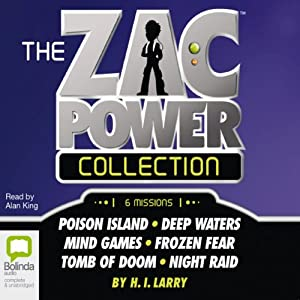 The Zac Power Collection Audiobook