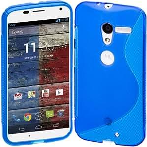 Cimo Motorola Moto X S-Line Case Flexible TPU Cover - Blue