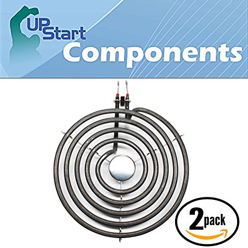 2-Pack Surface Burner 8 inch 5 Turns Element Replacement for Jenn-Air, Amana, Whirlpool - Compatible with Jenn-Air A100, Amana ARR6400WW, Jenn-Air A100B, Maytag CRE7500ACW, Whirlpool RF263LXTQ3 (A100 Jenn Air compare prices)