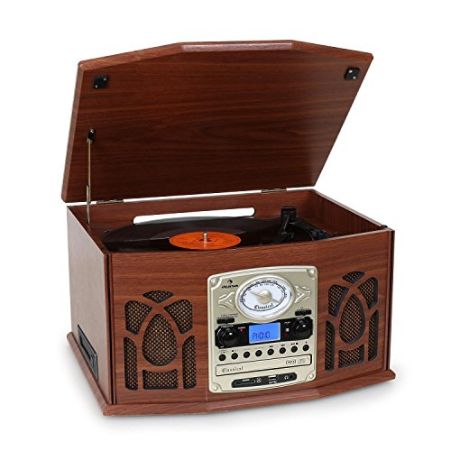 auna NR-620 Retro Record Player System (CD Player Black Friday & Cyber Monday 2014
