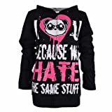 Kp Soulmate Hood Ladies Killer Panda New Gothic Emo Punk Osiris Fashion