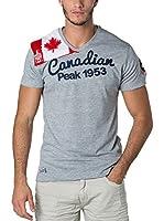 CANADIAN PEAK Camiseta Manga Corta Jailor (Gris Claro)