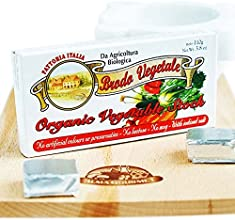 Organic Vegetable Stock Cubes 38 Oz 10 cubes box Pack of 7