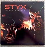 STYX Kilroy Was Here LP GF LP Vinyl, Cov VG++ 1983 Sterling SP 3734