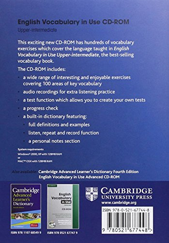 English Vocabulary in Use Upper-Intermediate CD-ROM