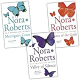 Nora Roberts Nora Roberts Circle Trilogy 3 Books Collection Pack Set (Valley of Silence, Morrigans Cross, Dance of the Gods)