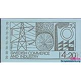 sellos para coleccionistas: Suecia mh26ii (completa.edición.) nuevo con goma original 1970 economía y industria...