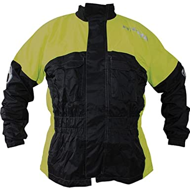 Richa Rain Warrior vêtements de pluie moto veste nouveaux hommes 100 % étanche