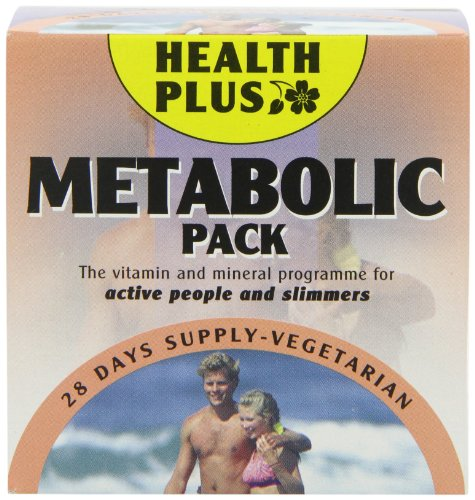 Health Plus Metabolic Pack Energy and Slimmers Daily Supplement - 28 Day Supply