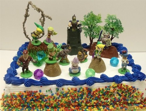 Zelda Birthday Cake To Buy In Store