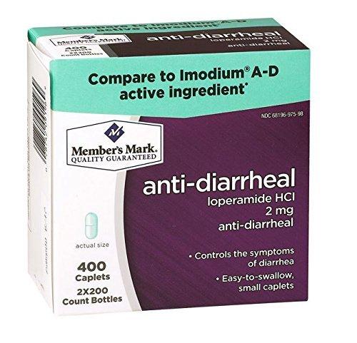 Anti-diarrheal Caplets