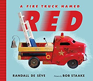 Book Cover: A Fire Truck Named Red