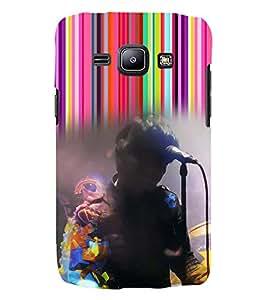 PRINTSWAG SINGER Designer Back Cover Case for Samsung Galaxy j2