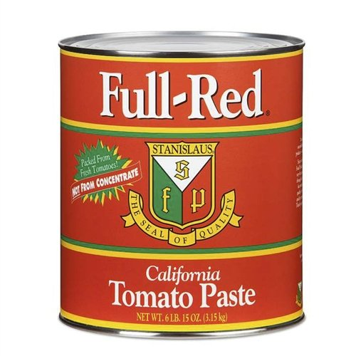 Full Red Tomato Paste #10, Pack of 6 (Tomato Paste 10 compare prices)