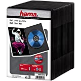 Hama Boîtiers DVD-ROM slim Lot de 25 Noir